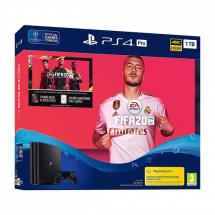 SONY konzola PLAYSTATION 4 PRO 1TB + FIFA 20 -  PS4, 1 kontroler, Crna