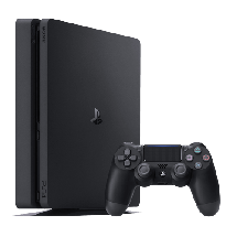 SONY konzola PLAYSTATION 4 SLIM 500GB -  PS4, 1 kontroler, Crna