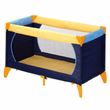 Prenosivi krevetac HAUCK Dream n play marine/blue/yellow, 5010031