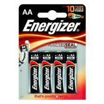 Baterije AA alkalne LR6G Energizer 25020, 1/4