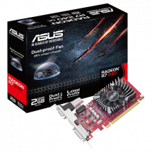 Grafička karta ASUS Radeon R7 240 2GB GDDR5 128bit - R7240-2GD5-L  AMD Radeon R7 240, 2GB, GDDR5, 128bit