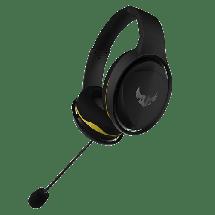 ASUS gejmerske slušalice TUF GAMING H5 LITE (Crne/Žute) - 90YH0125-B1UA00  3.5mm (četvoropolni) + adapter 2 x 3.5mm, Stereo, 20Hz - 20kHz, 50mm