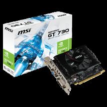 Grafička karta MSI nVidia GeForce GT 730 2GB 128bit - N730-2GD3V2  Nvidia GeForce GT 730, 2GB, GDDR3, 128bit