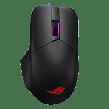 ASUS Bežični gejmerski miš ROG CHAKRAM (Crni) 90MP01K0-BMUA00  USB / USB nano prijemnik / Bluetooth, Optički, 16000 DPI, 1000 Hz / 1 ms
