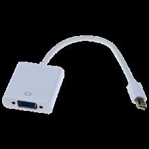 FAST ASIA adapter-konverter Mini DisplayPort na VGA (m/ž) (Beli) -134,  Mini DisplayPort - muški, VGA - ženski