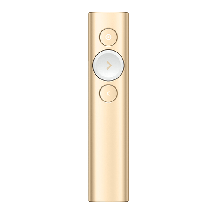 LOGITECH wireless prezenter Spotlight Bluetooth/RF  Zlatna