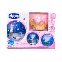 Chicco muzički projektor Next2Moon, roze