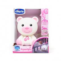 Chicco noćna lampa Dream light roze