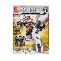 Sluban kocke, 3u1 robot, 313 kom