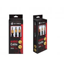 STARK kabl audio3.5mm na 2RCA  M-M(High sound quality)1.5m