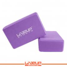 LiveUp Joga blok (cigla) - ljubičasta - LS3233A