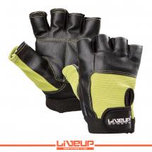 LiveUp Rukavice za fit i teret crno-zel. - L/XL - LS3058