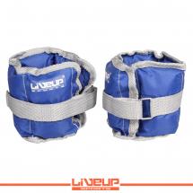 LiveUp Tegovi za noge sa čičkom - 1kg (2 kom.) - LS3011
