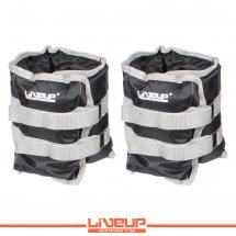LiveUp Tegovi za noge sa čičkom - 2kg (2 kom.)- LS3011