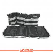 LiveUp Tegovi za noge sa čičkom - 3kg (2 kom.) - LS3011