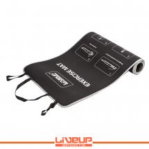 LiveUp Prostirka za vežbanje - neopren, crna - LS3258