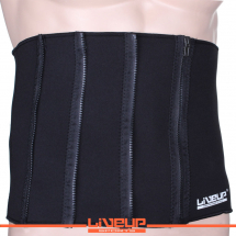 LiveUp podesivi pojas za mrsavljenje, crni - LS3039A