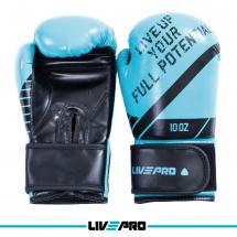 LivePro Bokserske rukavice za sparing 10 oz, plave - LP8600