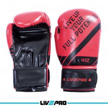 LivePro Bokserske rukavice za sparing 14 oz, crvene - LP8600