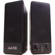 Zvučnici 2.0 Altos AL-S110 USB 6W black