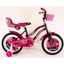 """Bicikl Adria Fantasy 16"""", crno/roze"""