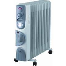 Uljani radijator sa ventilatorom Prosto UR-B22FT-13A, 2400 W