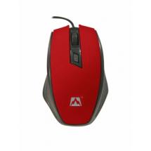 Miš USB Jetion JT-DMS068, 1000dpi, Crno-crveni