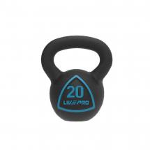 LivePro Kettlebell (Rusko zvono) - 20 kg - LP8041