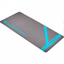 LivePro Prostirka za vežbanje - gumirana, sivo-plava - LP8228