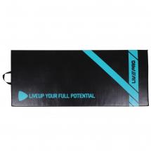 LivePro Prostirka za vežbanje - PVC, rec. pamuk, crna - LP8226