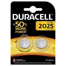 Baterije CR2025 litijum Duracell Coin 508260, 1/2