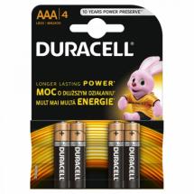 Baterije AAA alkalne LR03 Duracell Basic duralock 508180, 1/4