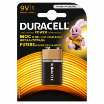 Baterije alkalne 9V Duracell Basic duralock 508187, 1/1