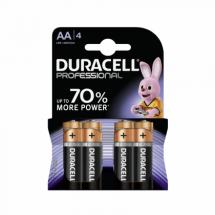 Baterije AA alkalna LR6 Duracell Professional  508258, 1/4