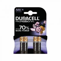 Baterije AAA alkalna LR03 Duracell Professional 508259, 1/4