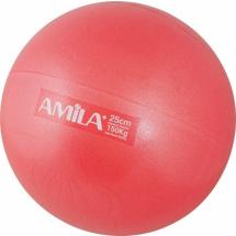 Pilates Lopta Amila 19cm - crvena, 48433