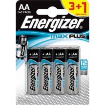 Baterije AA alkalna LR6 Energizer Max Plus 2699, 3+1