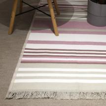 Tepih Dekor Dom Stella 80x150cm, sivo/roze