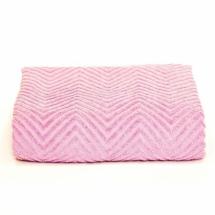 Prekrivač Dekor Dom Zig Zag 200x210cm, roze