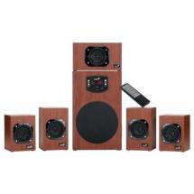 Zvučnici 5.1 Genius SW-HF5.1 4600 II 125W, Cherry Wood-