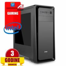 PCP Hawk, Intel i3-9100F/8GB/SSD240GB/HDD 1TB/RX560 4G