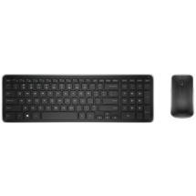 KM714 komplet bežična tastatura US+bežični optički miš 1000dpi crni