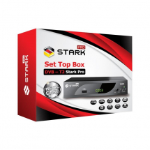 STARK PRO Set Top Box DVB-T2 PVR, teletex, metalno kućište