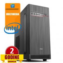 PCP Flint, Intel Core i3-9100F/8GB/HDD 1TB/Asus NVD GT710
