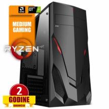 PCP Gamer X4 II, Ryzen 3 1200/8GB DDR4/HDD 1TB/GT1030