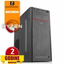 PCP Hunter, AMD Ryzen 3 2200G/8GB/SSD 240GB/HDD 500GB/Radeon Vega 8