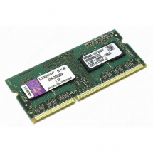 KINGSTON SO-DIMM 4GB DDR3 1333MHz CL9 - KVR13S9S8/4  4GB, SO-DIMM DDR3, 1333Mhz, CL9