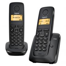 GIGASET A120 DUO (Crna)  Bežični telefon