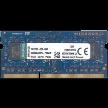 KINGSTON SO-DIMM 4GB DDR3L 1600MHz CL11 - KVR16LS11/4  4GB, SO-DIMM DDR3L, 1600Mhz, CL11