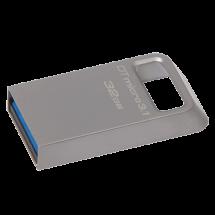 KINGSTON 32GB USB 3.1, DataTraveler Micro 3.1 (Silver) - DTMC3/32GB  USB 3.1, 32GB, do 100 MB/s, do 15 MB/s